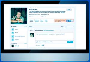 GoEnnounce – Student Digital Portfolios as an active learning tool