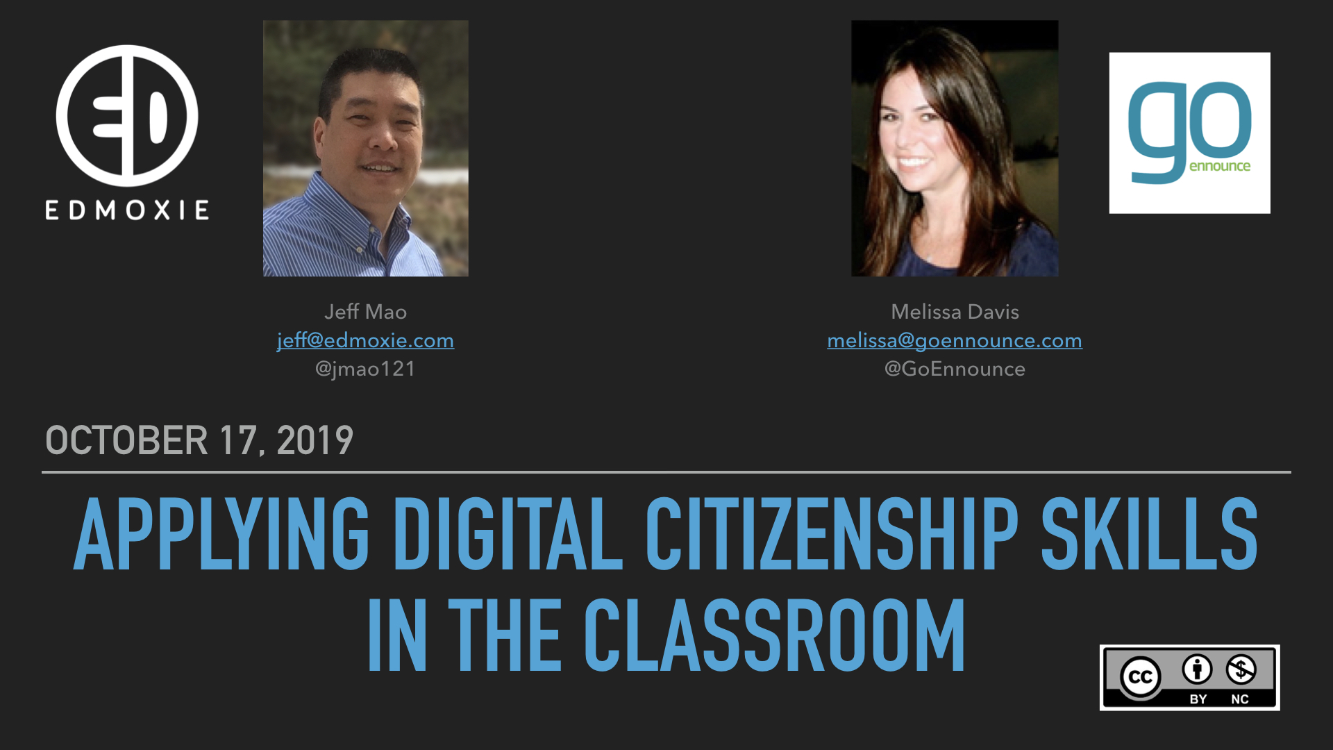 Webinar: Applying Digital Citizenship Skills in the Classroom