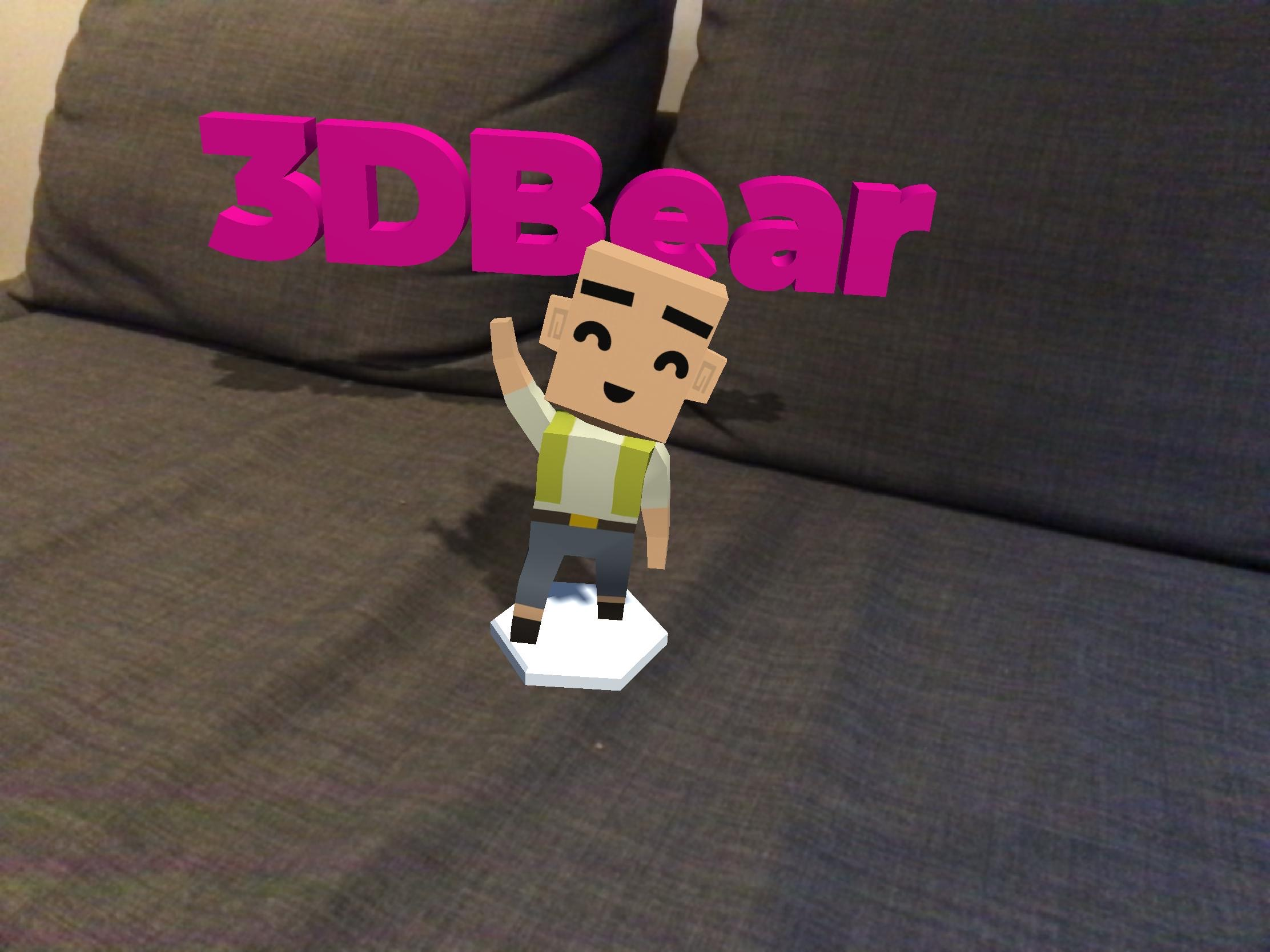 3DBear — Augmented Reality and Digital Story Telling