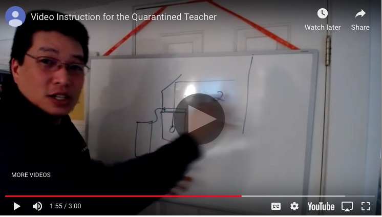 Tool Tips: Video Instruction for the Quarantined Teacher